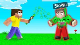 Minecraft BUT I Turn SLOGO Into JELLY! (Troll)