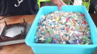 Make Tiles From Recycled Plastic #preciousplastic