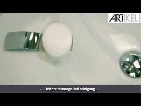 Artikel-Design Seifenhalter Edelstahl poliert oder matt