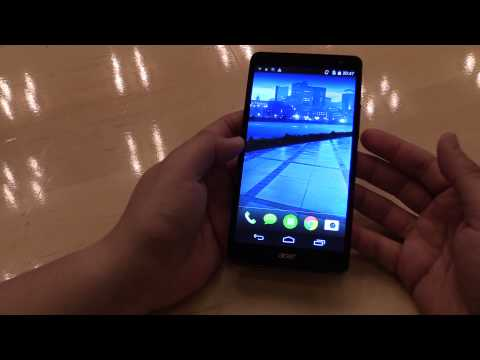 Acer Liquid X1 Octa-Core Phablet Hands On [English]