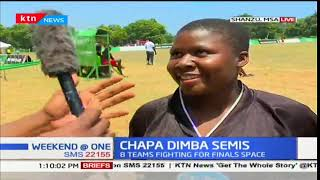 8 Teams face off at the Chapa Dimba semis in Coast