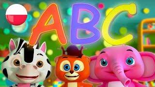 Abecadło | Polskie Piosenki Dla Dzieci | Kołysanki | Filmy Dla Dzieci | Alphabet Song For Kids