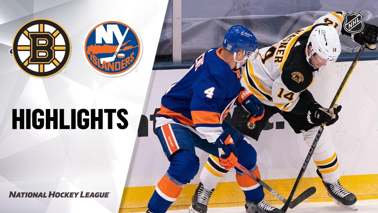 Bruins vs Islanders | Monday, January 18, 2021