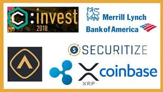 Big News at ConsensusInvest Tomorrow? - Crypto ETP - BOA Merrill Lynch Crypto - Securitize Xpring