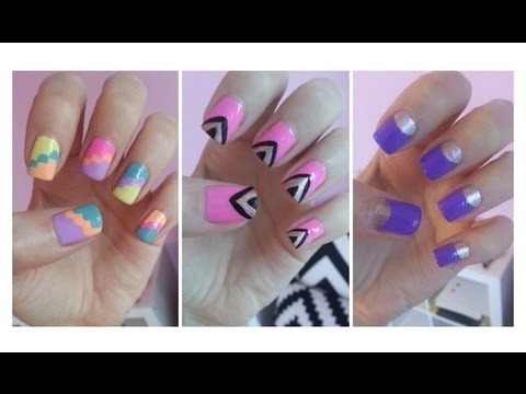 , title : 'Easy Nail Art For Beginners!!!'