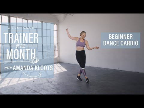 Beginner Dance Cardio | Trainer of the Month Club | Well+Good
