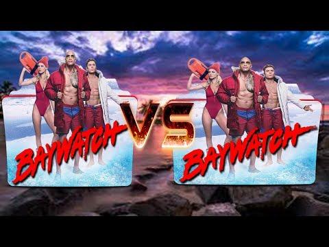 Minecraft Versus - WHO WILL WIN THE ROCK OR ZAC EFRON?? Baywatch vs Baywatch