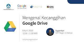 """""""Topik ini akan memperkenalkan apa itu Google Drive, mengajarkan cara mengunggah dan menyimpan file dan folder, menyinkronkan dan mengakses, berbagi dan juga berkolaborasi. Pembicara : Suparman Indonesia Edu Webinars merupakan rangkaian pelatihan online secara gratis bagi para pendidik di seluruh Indonesia. Pelatihan ini bertujuan untuk mengajarkan keahlian digital dasar dalam menavigasi perangkat Google Suite for […]"""