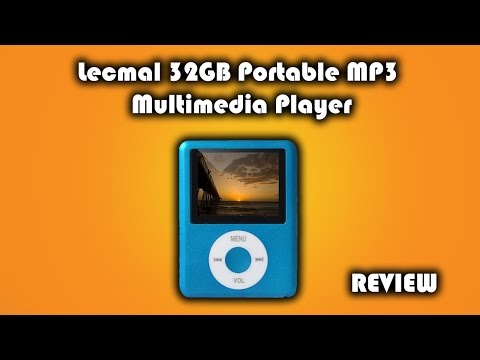 Lecmal 32GB Portable MP3 Multimedia Player Review