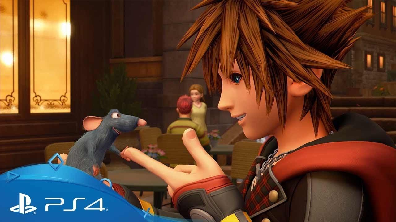 Kingdom Hearts III è disponibile ora su PS4