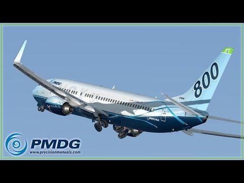P3D V4 1] PMDG 737 NGX | FULL FLIGHT TUTORIAL | KSAN To KTUS