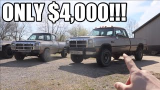 I BOUGHT THE CHEAPEST 4X4 CUMMINS I COULD FIND!!!