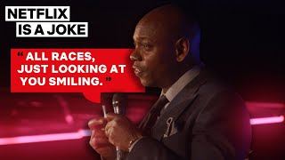 Dave Chappelle Describes His 12-Year Absence From Comedy   Netflix Is A Joke
