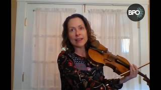 VIOLIN: Three Octave Scales with Amy Glidden