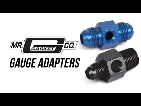 Mr. Gasket Gauge Adapters
