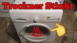 trockner stinkt Trockner riecht verbrannt » Was tun? reinigen der luftwege