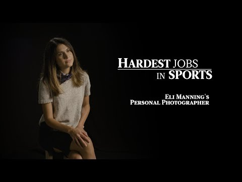 Eli Manning's Photographer | Hardest Jobs in Sports