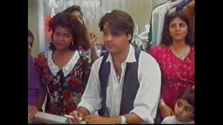 Rahul Roy - Autograph session in Mozambique.