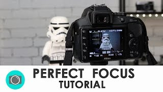 How to focus a digital camera - Photography tips for beginners