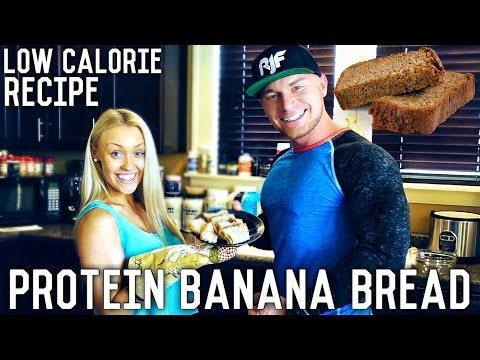 Video Healthy Protein Banana Bread   Macro Friendly Recipe