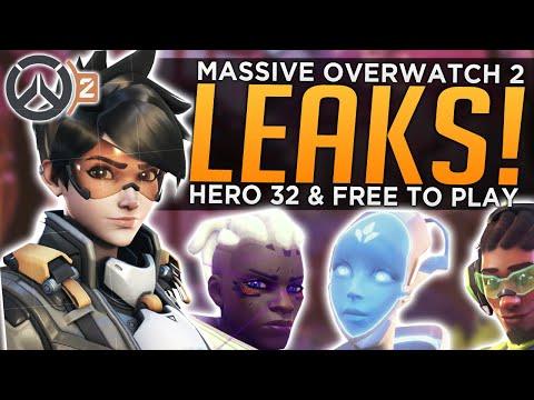 MASSIVE Overwatch 2 Leaks! - Hero 32 & FREE TO PLAY