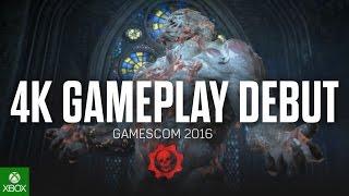 Gears of War 4 - 4K Gameplay Debut (Gamescom 2016)