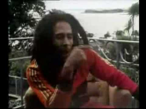 Bob Marley interview on Marijuana