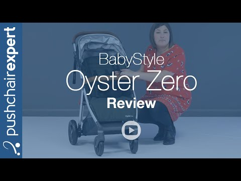 BabyStyle Oyster Zero Up Close Review