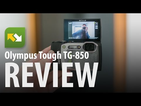Olympus Stylus TG-850 : Review