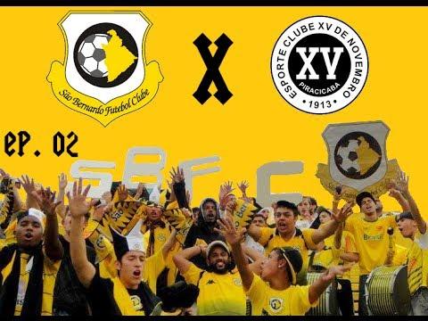 """""""XV 0x2 São Bernardo (Copa Paulista) EP. 02"""" Barra: Movimento Popular Febre Amarela • Club: São Bernardo Futebol Clube"""