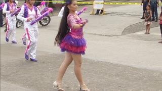 Lovely Majorette Stuns Audience during Kidapawan City Carnival 2017