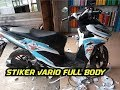DECAL stiker Vario 150 new full body doraemon