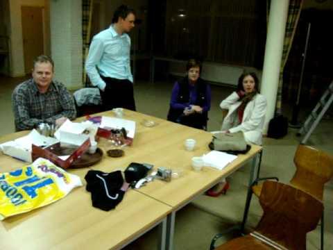 Voorbereiding 'Bonbons in luxe verpakking' - toneelgroep Vortum-Mullem