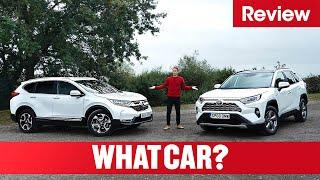 2020 Toyota RAV4 Vs Honda CR-V – Hybrid SUV Showdown | What Car?