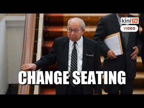 Ku Li wants to change seating, not be seen supporting 'kerajaan gagal'