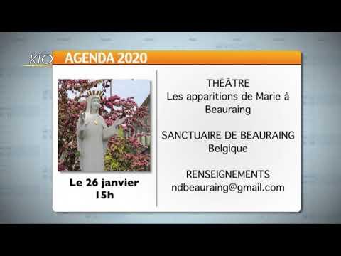 Agenda du 13 janvier 2020