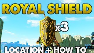 How to get Royal Shield. Location and Tutorial