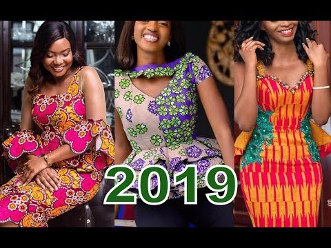 Best African Dress Designs 2019 : Collection of Ankara And Aso Ebi Styles