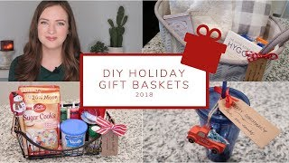 5 Easy DIY Christmas Gift Basket Ideas | Holiday Gift Guide 2018