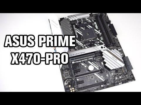 ASUS Prime X470-PRO Motherboard Review