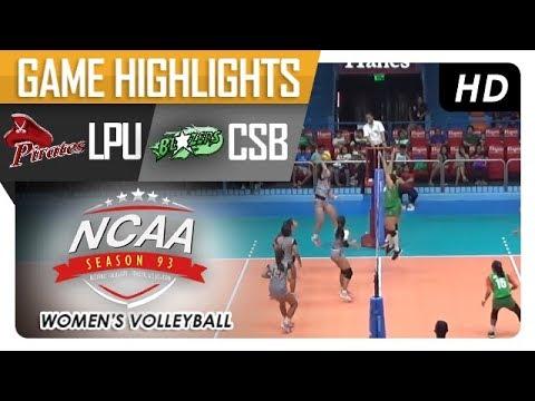 NCAA 93 WV: CSB vs. LPU | Game Highlights | January 11, 2018