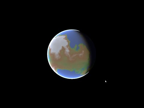 Prototype] Procedural Planet Generation - Make Games South Africa