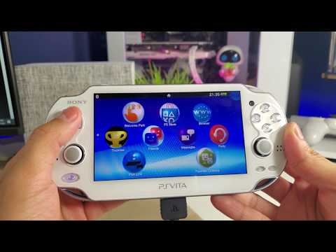 Unboxing Crystal White Sony PS Vita Straight From Japan | 4K Ultra HD