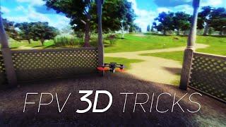 FPV Tricks - 3D Tricks with sticks overlay ( Simulator )