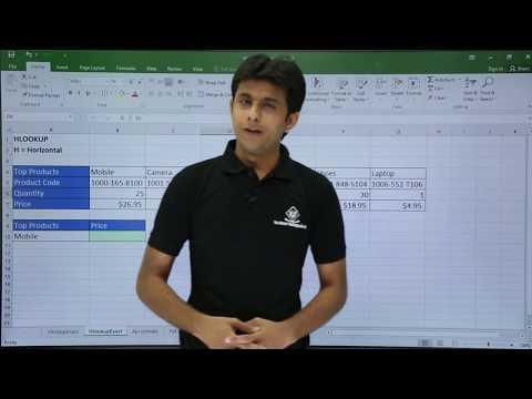 MS Excel - H-Lookup