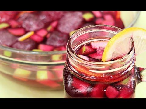 Bebida Para El Verano: Prepara Una Sangría de Vino Tinto