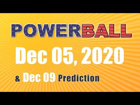 Winning numbers prediction for 2020-12-09|U.S. Powerball