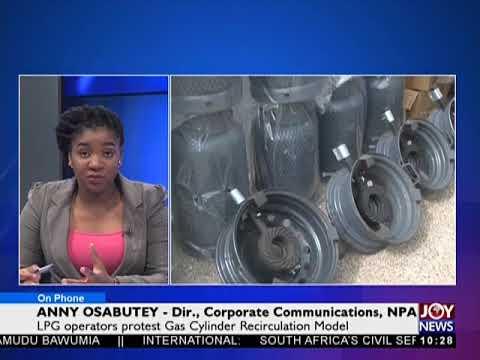 LPG Operators Protest - News Desk on Joy News (21-5-18)