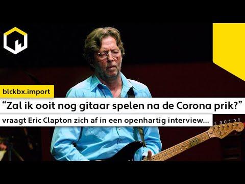 """""""Zal ik ooit nog gitaar spelen na de Corona prik?"""" vraagt Eric Clapton zich af in een interview..."""