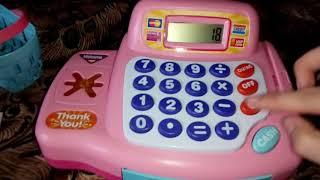 Кассовый аппарат Keenway. Игрушка для девочек. Всё что нужно для игры в магазин